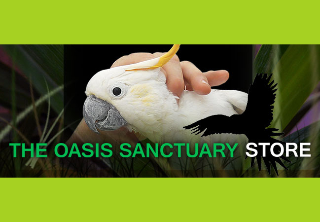 The Oasis Sanctuary Store Is Now Open!
