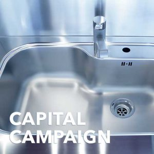 One Compartment Sink W/ Drain/Faucets