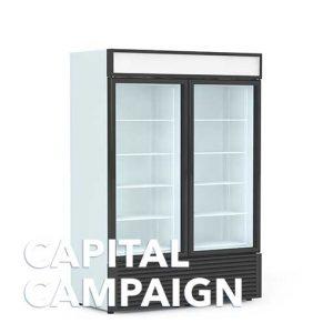 Reach-In Glass Door Refrigerator