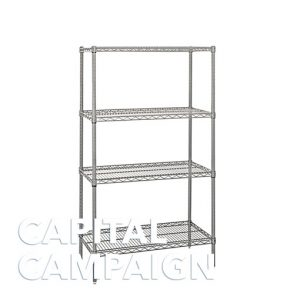 Stainless Steel Wire Shelves (18″ X 54″)