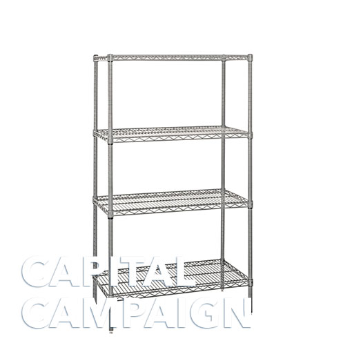 stainless steel wire shelves  18 u0026quot  x 54 u0026quot