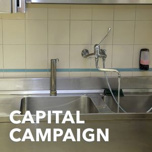Three Compartment Sink W/ Drain/Faucets